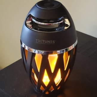 sold at the Grommet, TIKITUNES light and music speaker