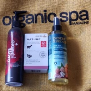 productgs from organic spa magazine events 2019