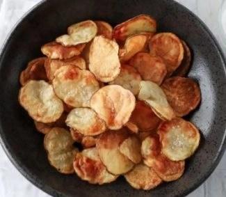 stock photo potato chips recipe mealthy crispLid