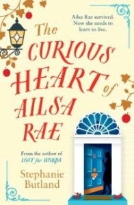 book cover the curious heart of Ailsaq Rae by Stephanie Butland