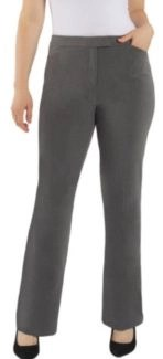 stock photo grey trouser pants by Measure & Made Fall 2019
