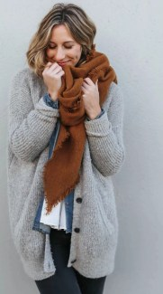 girl wearing layers fashion winter for skincare article