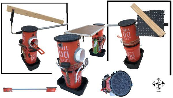 ultimate 5 gallon bucket workmate workbench