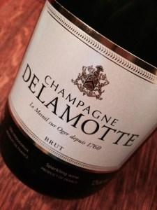 Champagne Delamotte Label