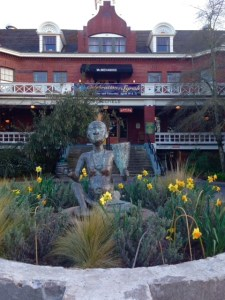 Front entrance at Edgefield