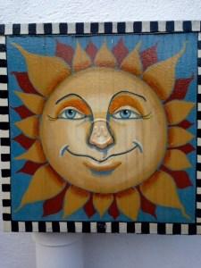 Artistic sun