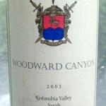 Woodward Canyon 2003 Syrah