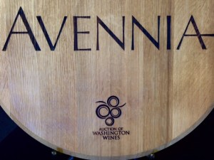 Avennia Barrel top sign