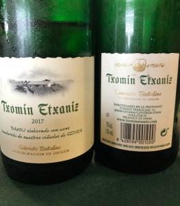 getaria basque wine