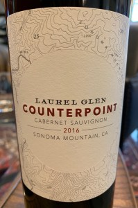 Sonoma mountain wine