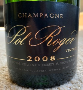 2008 Pol Roger Champagne