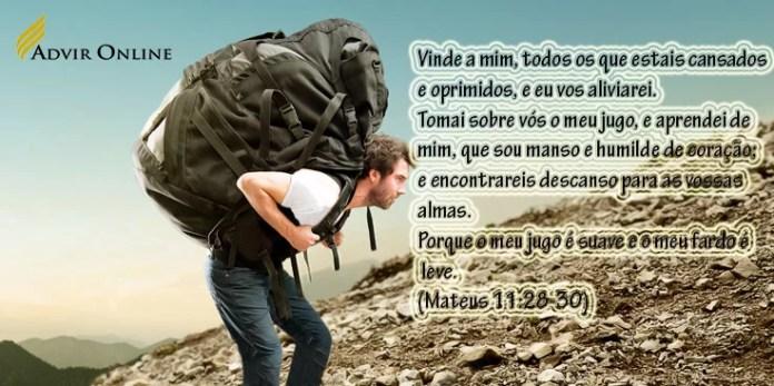 fardos pesados? 10 versículos bíblicos para aliviar a carga