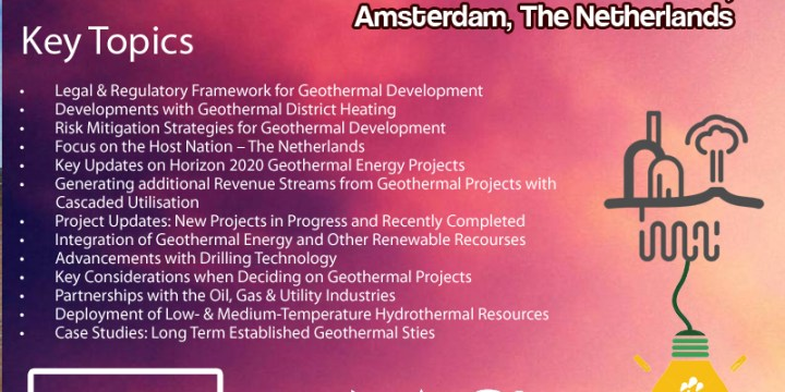 Global Geothermal Energy Summit