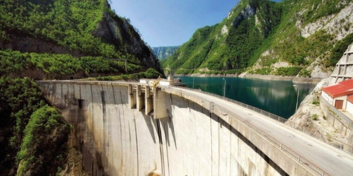 Visit Piva and Perucica HPPs planned to be reconstructed over the next 5 years