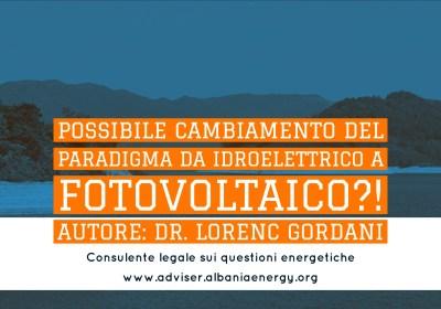Possibile un cambiamento del paradigma da idroelettrico a fotovoltaico?!