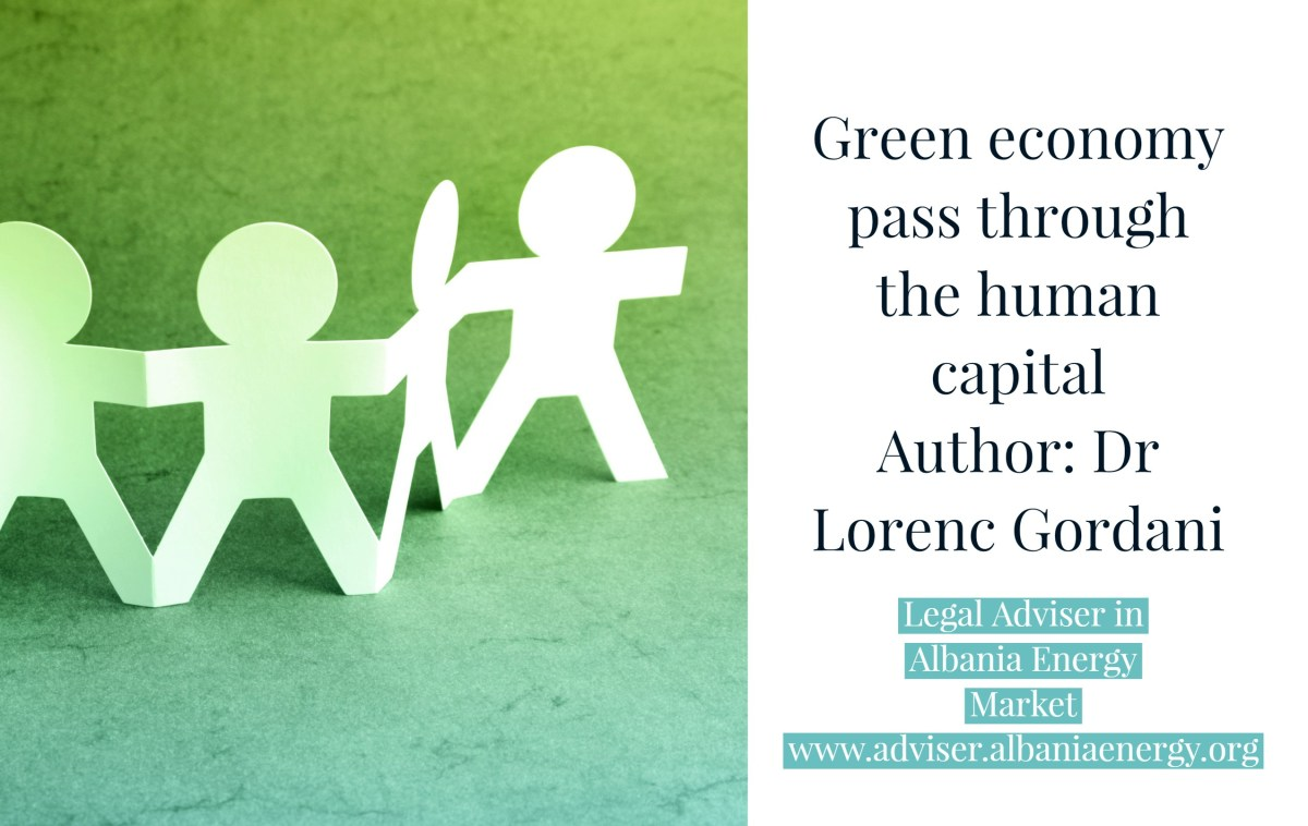 Green economy pass through the human capital