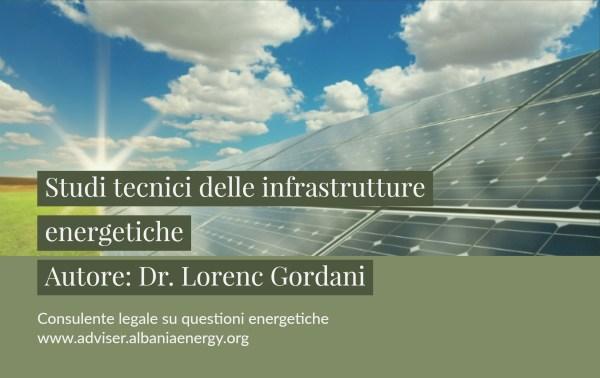del progetto infrastrutture energetiche da lorenc gordani delle infrastrutture energetiche da lorenc tecnici delle infrastrutture energetiche da studi tecnici delle infrastrutture energetiche