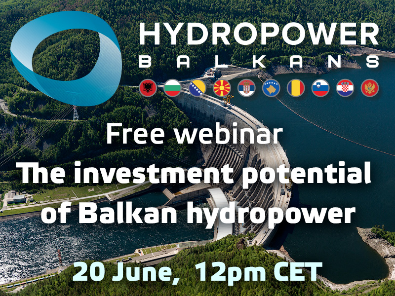 "Webinar Records ""Investment Potential of Balkan Hydropower"" by Vostock Capital"