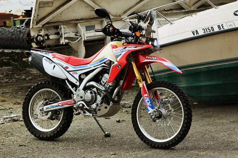 Honda Crf250l Rally Project 3