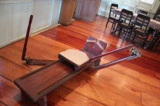 "Rowing ""equipment"" used by the President to exercise"