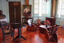 The Sala Where the Painting of Pres. Magsaysay is Displayed Prominently