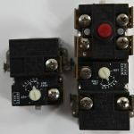Upper and lower water heater thermostats