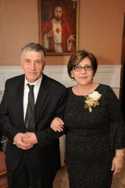 Councillor Rosa DiFlorio is shown with her husband, Michael.