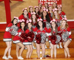 The Sachem Varsity Cheerleaders