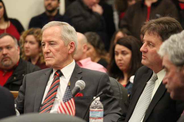 Superintendent Fred Foresteire and Assistant Superintendent Charles Obremski