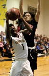 Jason Ndansi chipped in with nine points to the Pioneers' effort against Watertown.