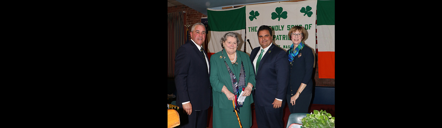 Friendly Sons of Saint Patrick host Annual Dinner