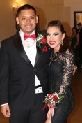 Ready for dancing, Andrew Suy and Katrina Mojica.