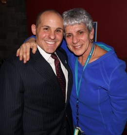 State Rep Steven Ultrino with Stephanie Savini.