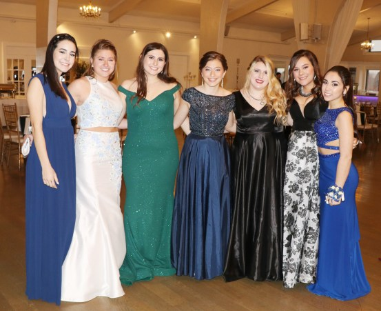 These lovely ladies from the RHS Junior Class pose for a photo at the DYC.