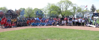 Its always a great day to open baseball season, and last Saturday was no exception. Lots of kids and their parents turned out for the ceremony at Bruce Field in Malden.