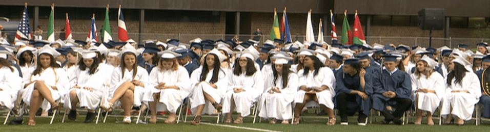 Approximately 360 seniors received their diplomas during the June 1 graduation ceremony. (Photos Courtesy of PAT)
