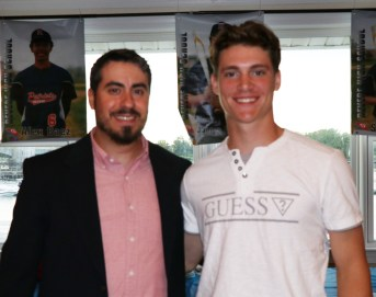 The Head Coach of the Patriots, Michael Manning, announced EJ Leone as the Northeastern Conference's 2nd team All-Conference Player. Leone had a terrific season for the Patriots, compiling 17 league-leading stolen bases, two wins as a pitcher and a .448 at bat average.