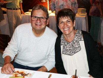 Arthur Argenzio and Nancy Ciarlone at the RHS Class of 65 Birthday Party