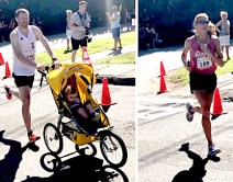 Shawn Wallace, 37, of Waltham, won the 51st Annual Fourth of July Road Race with a time of 16:44. Kelly Carter, 41, of Windham, N.H., was the top female finisher and placed 15th overall with a time of 20:25.