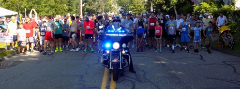 More than 300 residents took part in the 51st Annual Fourth of July Road Race sponsored by the Lynnfield Athletic Association.