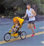 Shawn Wallace, 37, of Waltham, won the 51st Annual Fourth of July Road Race with a time of 16:44.