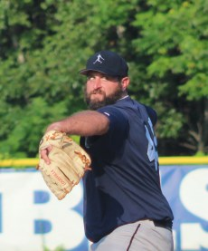 Pitcher Mike Gallo contributed a two-run homer in Peabody's game four victory.