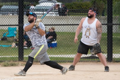 A Strike Out Cancer softball tournament was held at Glendale Park on Saturday and Sunday