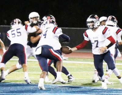 Murphy to McNeil is a winning combination for the RHS Patriots.