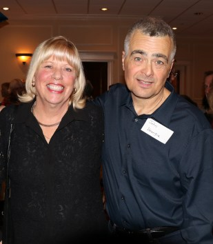 City Councillor JoAnne McKenna with John Verrengia.