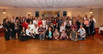 Forty-five years in the making the graduates of the RHS Class of 1973 at the Casa Lucia last Saturday night.