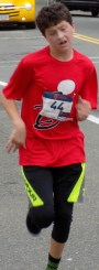 Riley McGoldrick, 13, of Lynn, finished in sixth place with a time of 21 minutes, 58 seconds.
