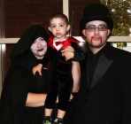 It's a family tradition, dressing in black; meet the Califano family, Jack, Eric and Carrie.