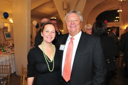 Steve Vesey, Board of Directors, with his daughter, Courtney Conroy