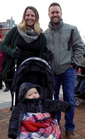 Matthew and Colleen Lawless with their one-year-old daughter, Kelan.